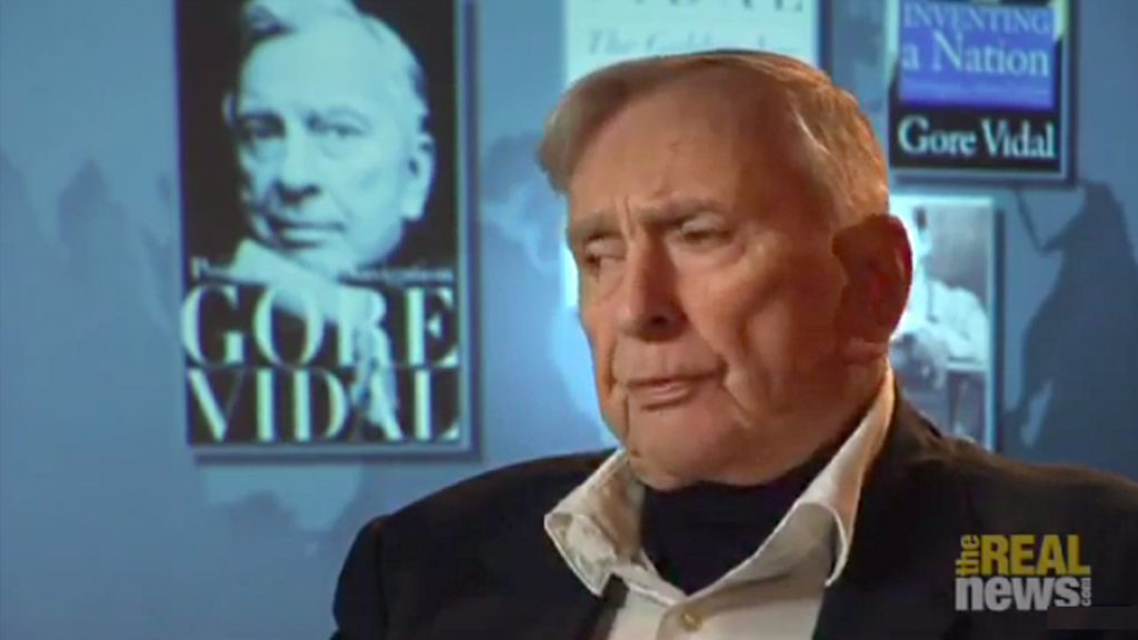 Gore Vidal on the Democrats and Religion (5/7)