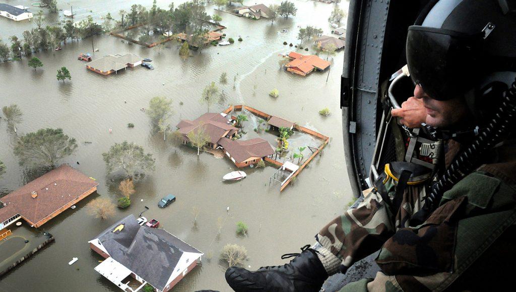 army, Houston flood