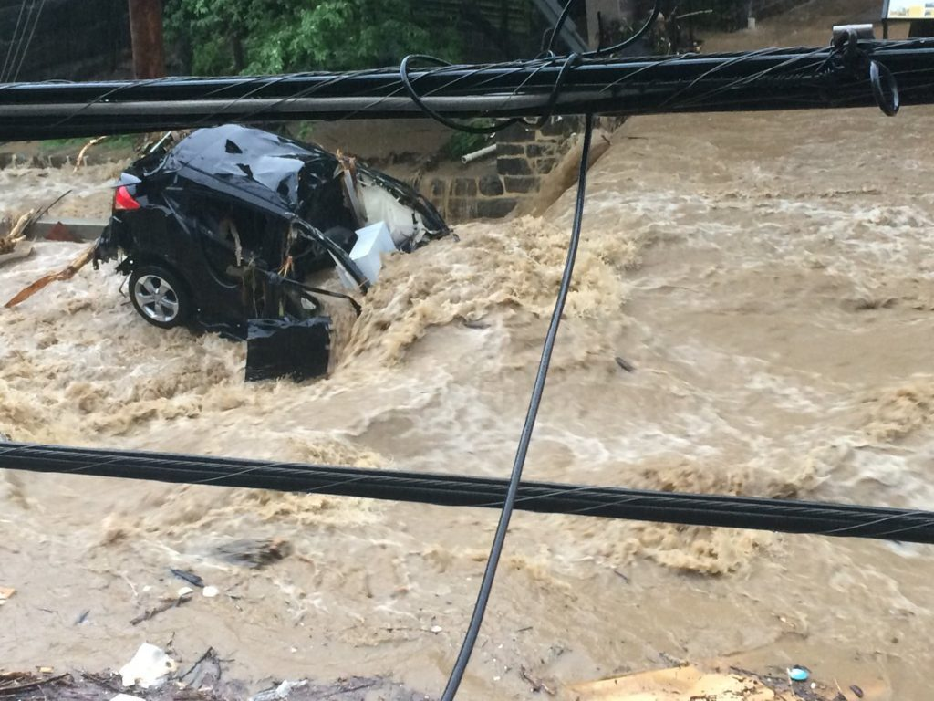 Flood in Ellicott City