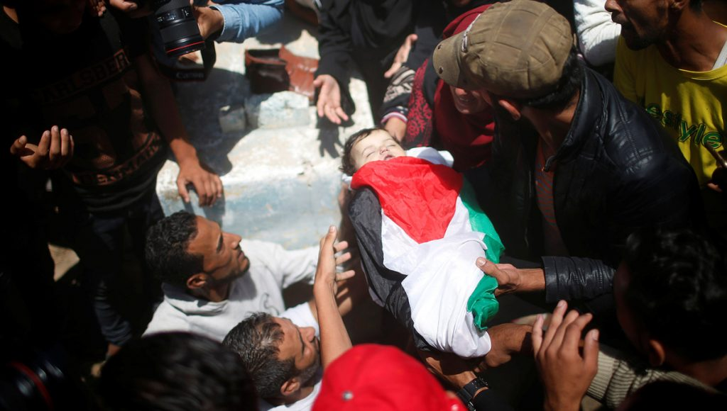 Israel Slaughters Unarmed Palestinian Protesters While Trump Admin. Shouts 'Hamas!'