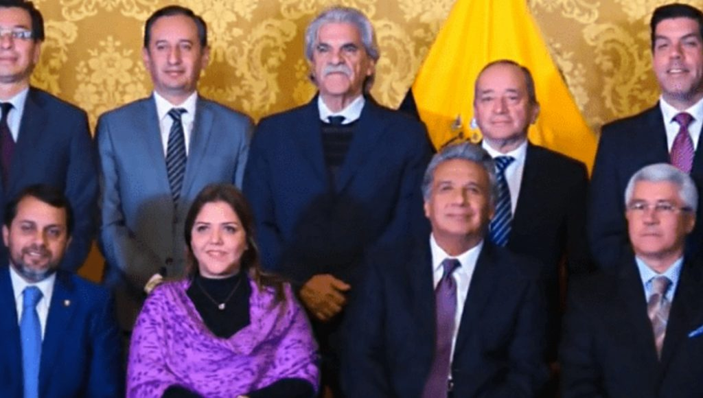 Ecuador's Lenin Moreno Moves Further Right With New Cabinet