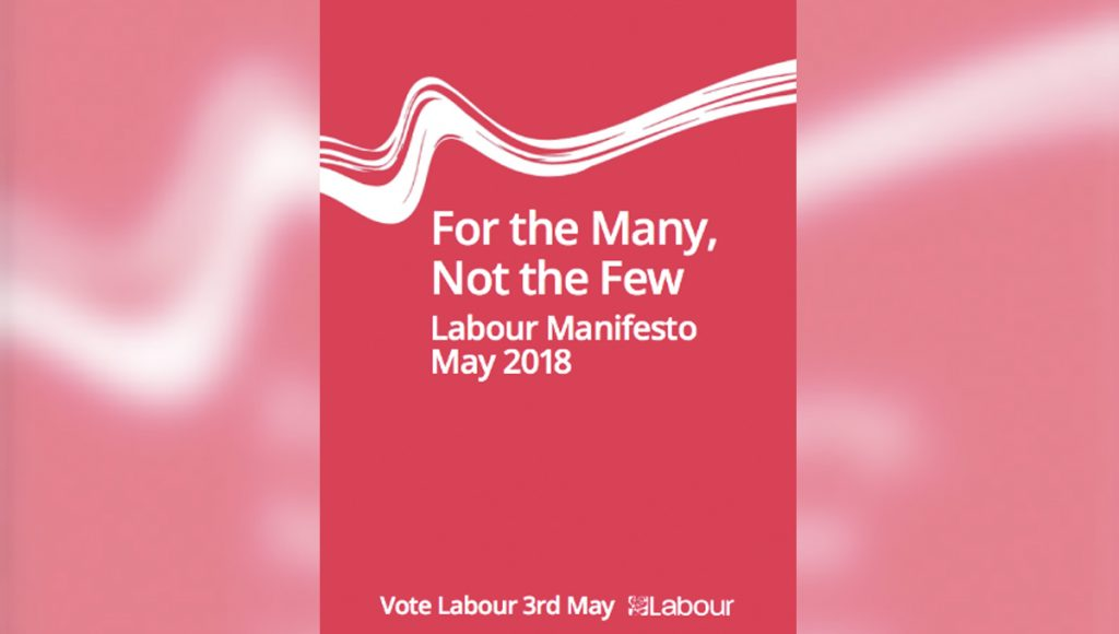UK's Labour Party Manifesto