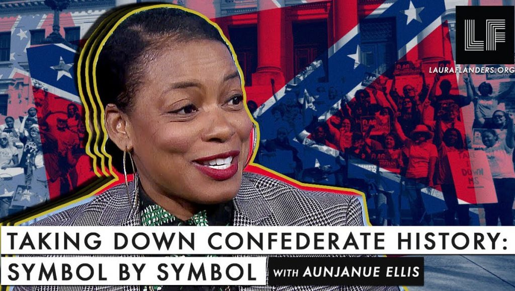 Laura Flanders Show: Taking Down the Confederacy - Symbol by Symbol