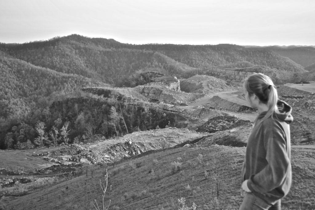 Mountains Foundation's Elise Keaton Overlooking Destruction