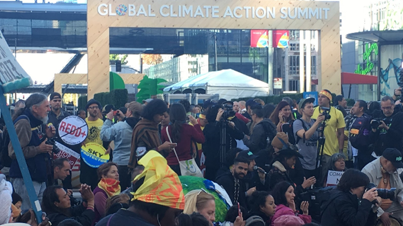 Image result for Hundreds Disrupt Global Climate Action Summit, Demand Climate Justice