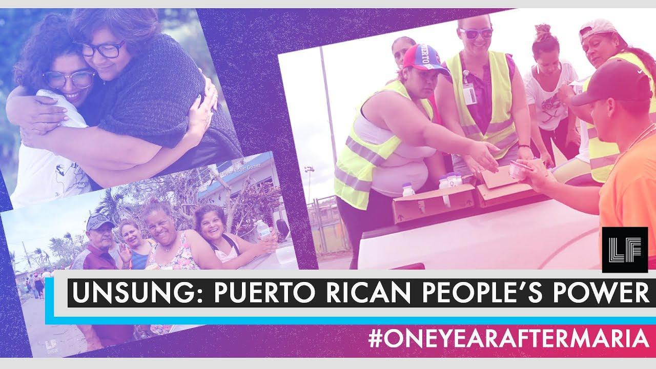 Laura Flanders Show: Puerto Rican People's Power #1YearAfterMaria