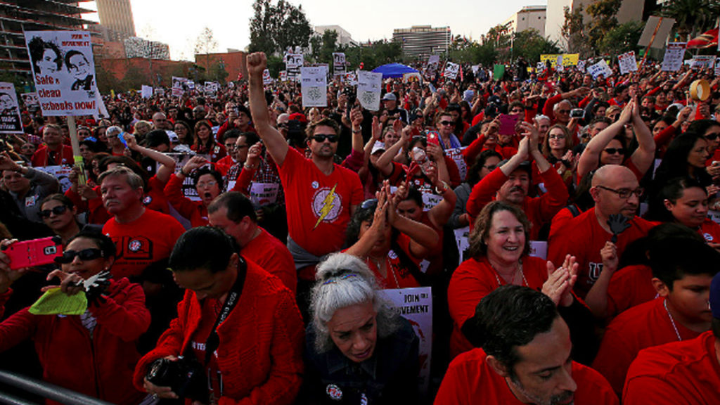 LA Teachers May Be Forced to Strike for More School Funding