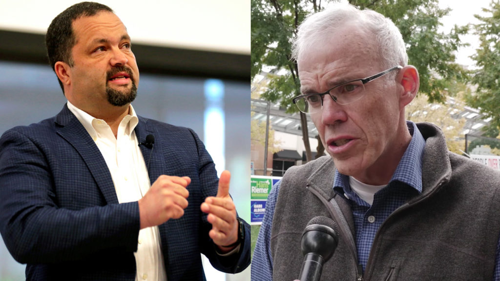 Bill McKibben Campaigns for Maryland Democratic Candidate Ben Jealous