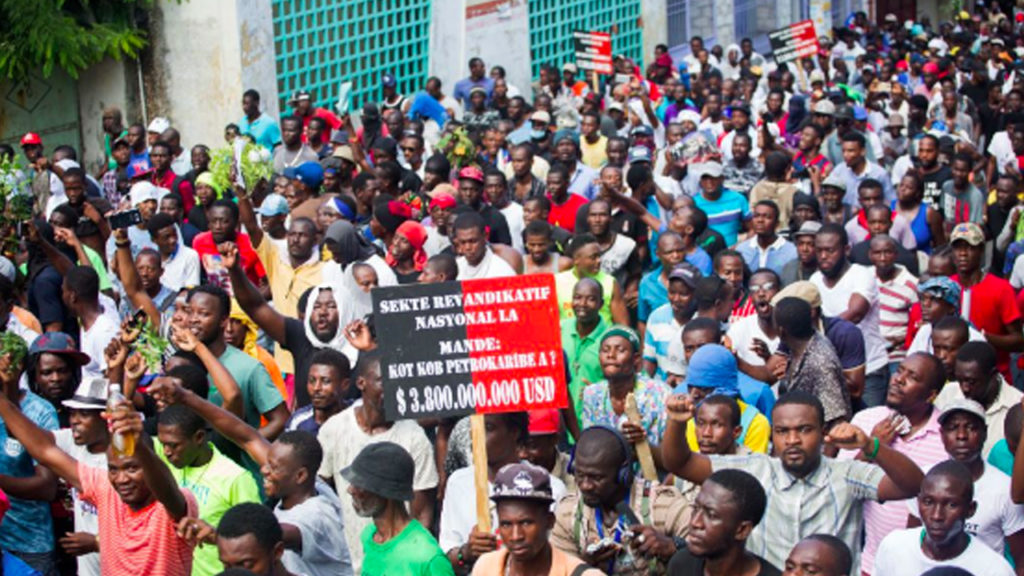 Haitians Rise Up Against Corruption, Austerity