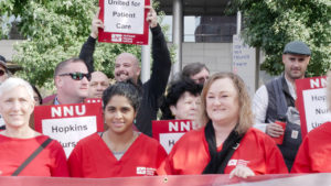 NLRB Says Johns Hopkins Violating Rights of Nurses Seeking to Unionize