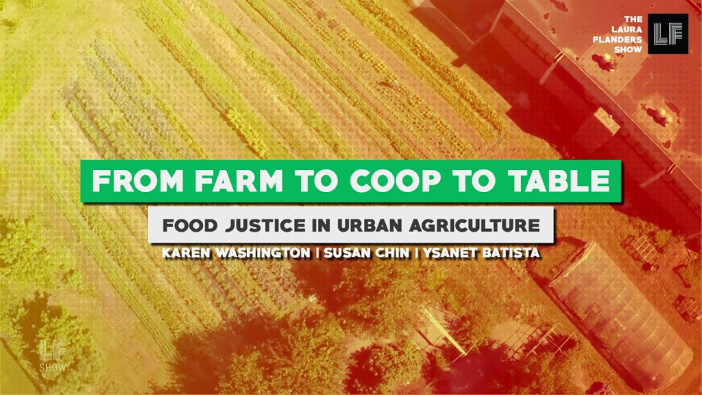 Laura Flanders Show: Food Justice in Urban Agriculture