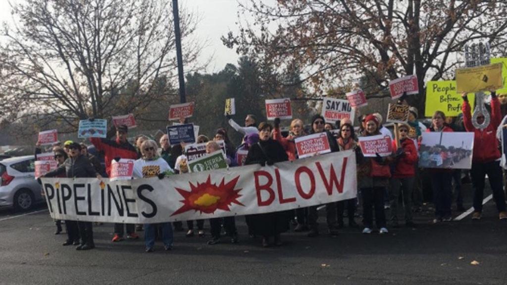 In Maryland, Protestors Demand National Park Service Block Potomac Pipeline