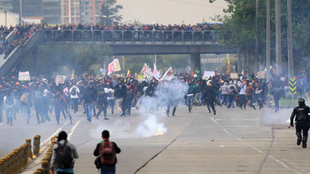 Month-Long Student Strike Paralyzes Colombia's Public Universities