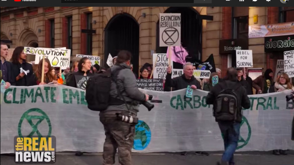 #ExtinctionRebellion Launches Civil Disobedience Campaign Over Climate Change