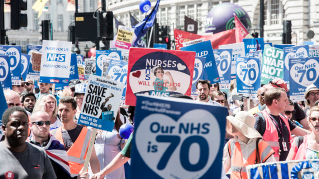 "Right-Wing Media: Britain's Free Healthcare System on the Verge of ""Imploding"""
