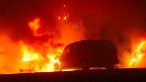 As California Fires Worsen, Environmentalists Demand a Green New Deal