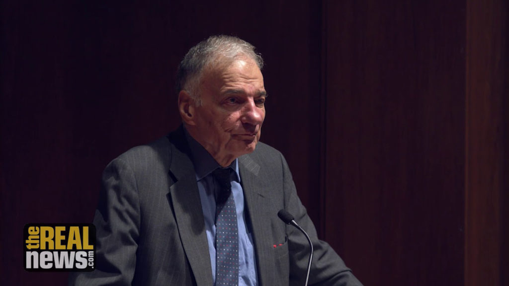 Ralph Nader: Destroying the Myths of Market Fundamentalism