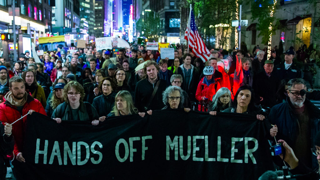 Trump's Firing of Jeff Sessions Sparks Marches for Mueller