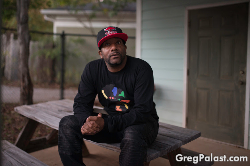 Rahiem Shabazz, wrongfully purged Georgia Voter | Photo by Zach D Roberts, Palast Investigative Fund