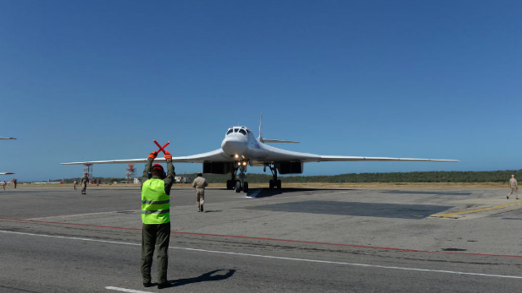 Moscow Says Strategic Bombers Return To Russia After Stay In Venezuela