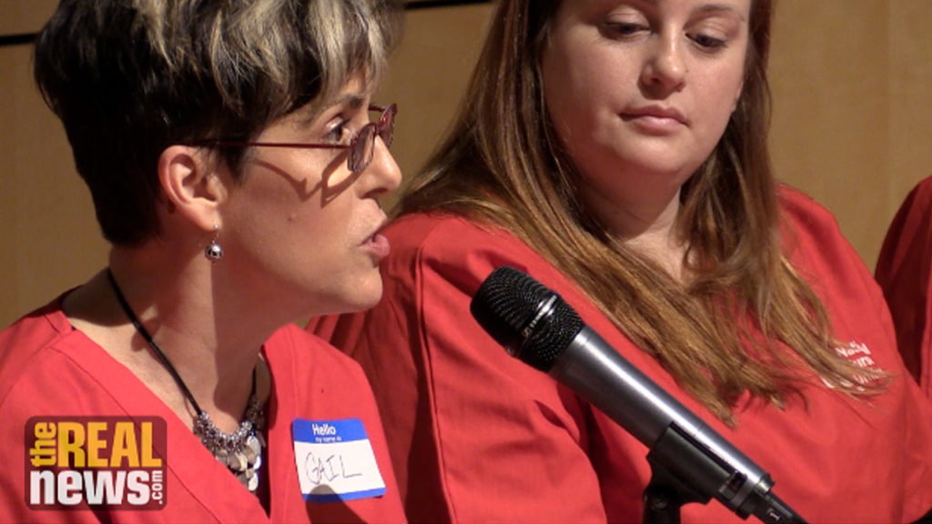 Nurses say Union Will Help Hold Hopkins Accountable to the Community