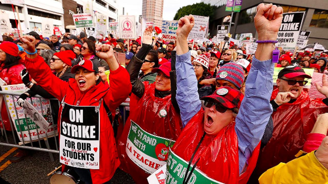 LA Teacher's Strike Ends: Teachers & Students Win, Privatization on the Run