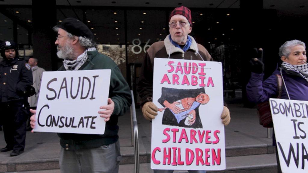 Activists on Hunger Strike Demanding an End to US-Saudi War on Yemen