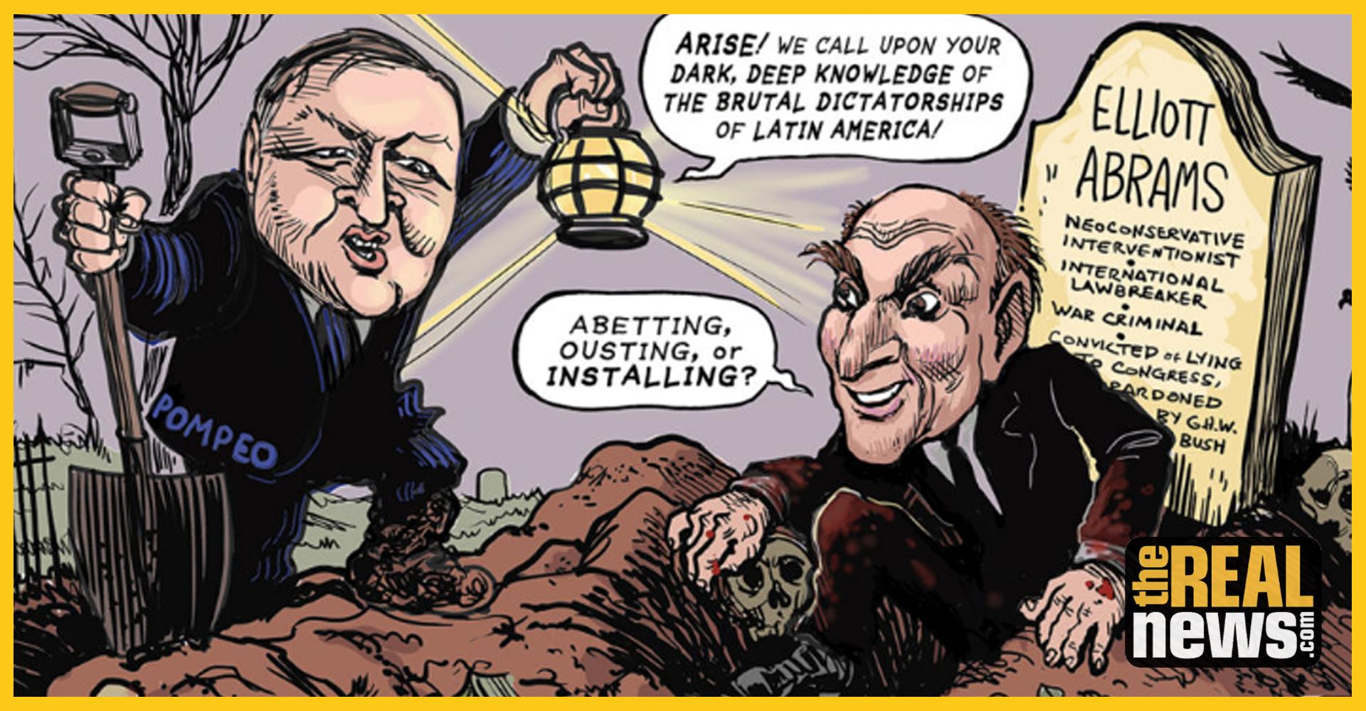 Elliott Abrams The War Criminal Running Us Policy In