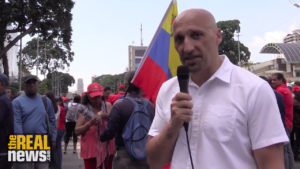 Evenly Matched Pro- and Anti-Government Marches in Venezuela