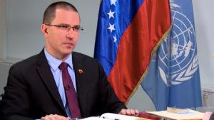 """Canciller de Venezuela: """"Los EEUU está adelante del intento golpista, no detrás"""""""