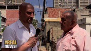 TRNN Visits a Working Class Neighbourhood in Caracas