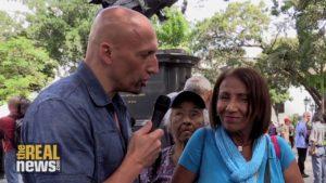 In Caracas, Ordinary Venezuelans Speak to The Real News About Venezuela's Crisis
