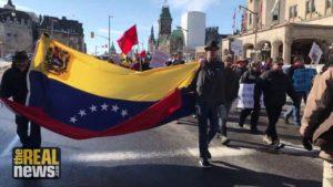 """""""Hands Off Venezuela"""" Rallies Held in Cities Around the World"""