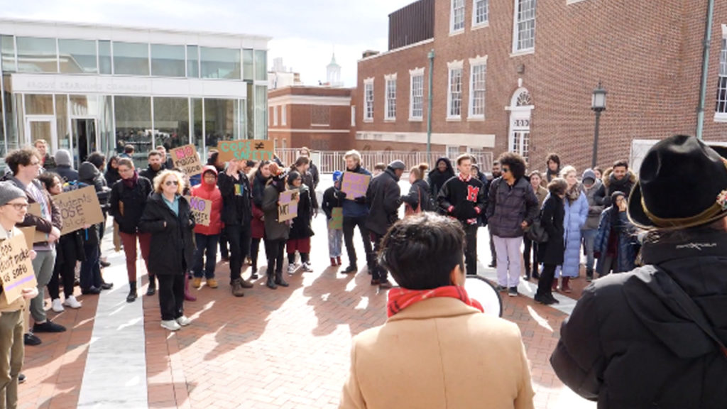 Students and Faculty Rally Against Proposed Private Police Force for Johns Hopkins