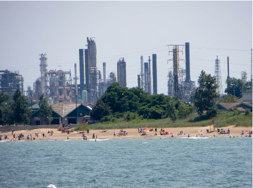 BP Whiting Refinery; Photo Credit: Wikimedia Commons