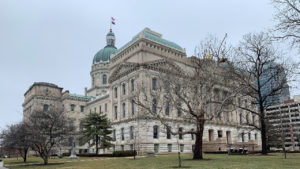 Indiana Statehouse in Indianapolis, Ind.; Photo Credit: Steve Horn