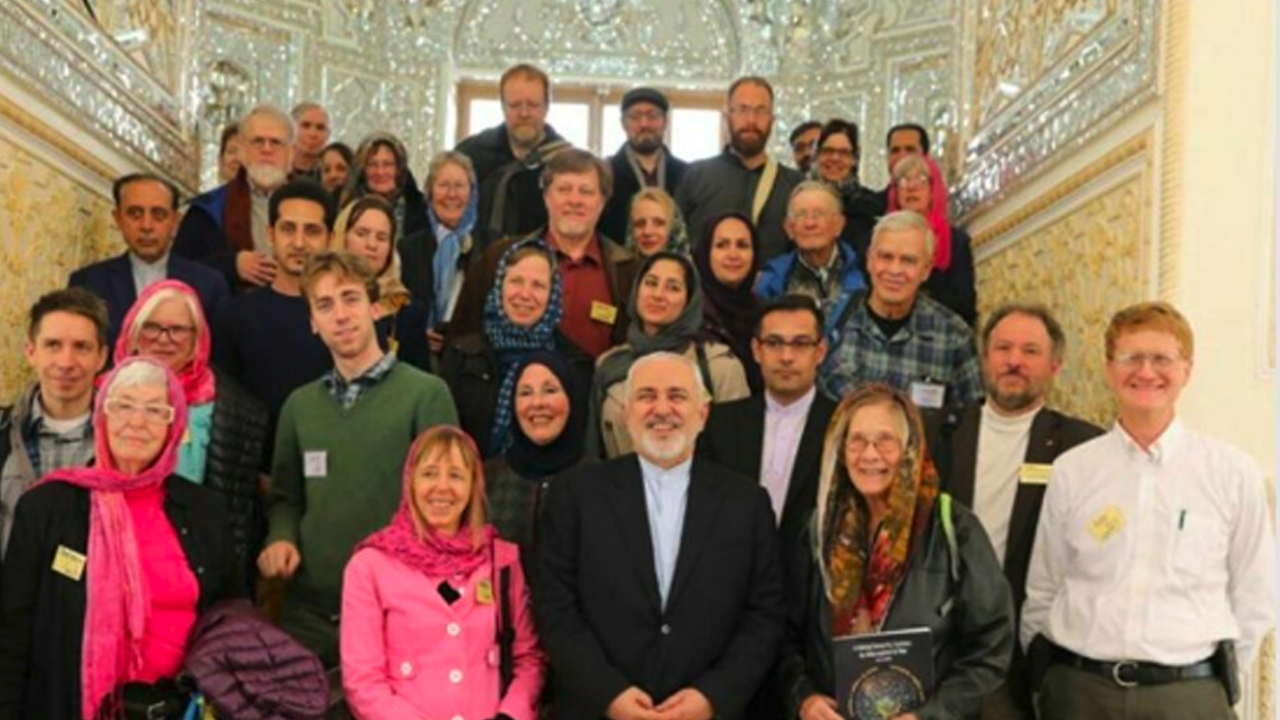 U.S. Peace Delegation to Iran Welcomed by Foreign Minister, Met by FBI Agents on Return