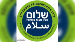 German Jewish Peace Group Wins Peace Prize; Then Attacked as being Anti-Semitic