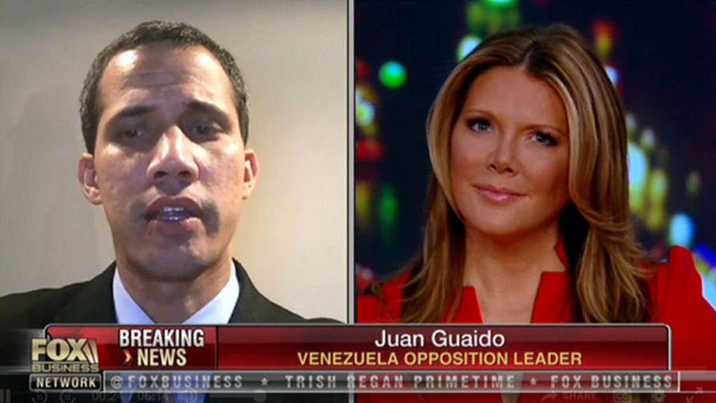 Guaidó Claims He Can Authorize Foreign Military Intervention in Venezuela