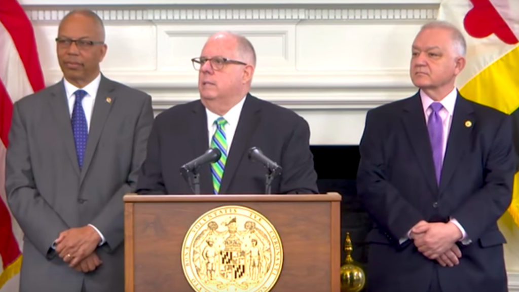 "It's ""Pro-Criminal"" to Oppose Mandatory Minimums - Gov. Larry Hogan"
