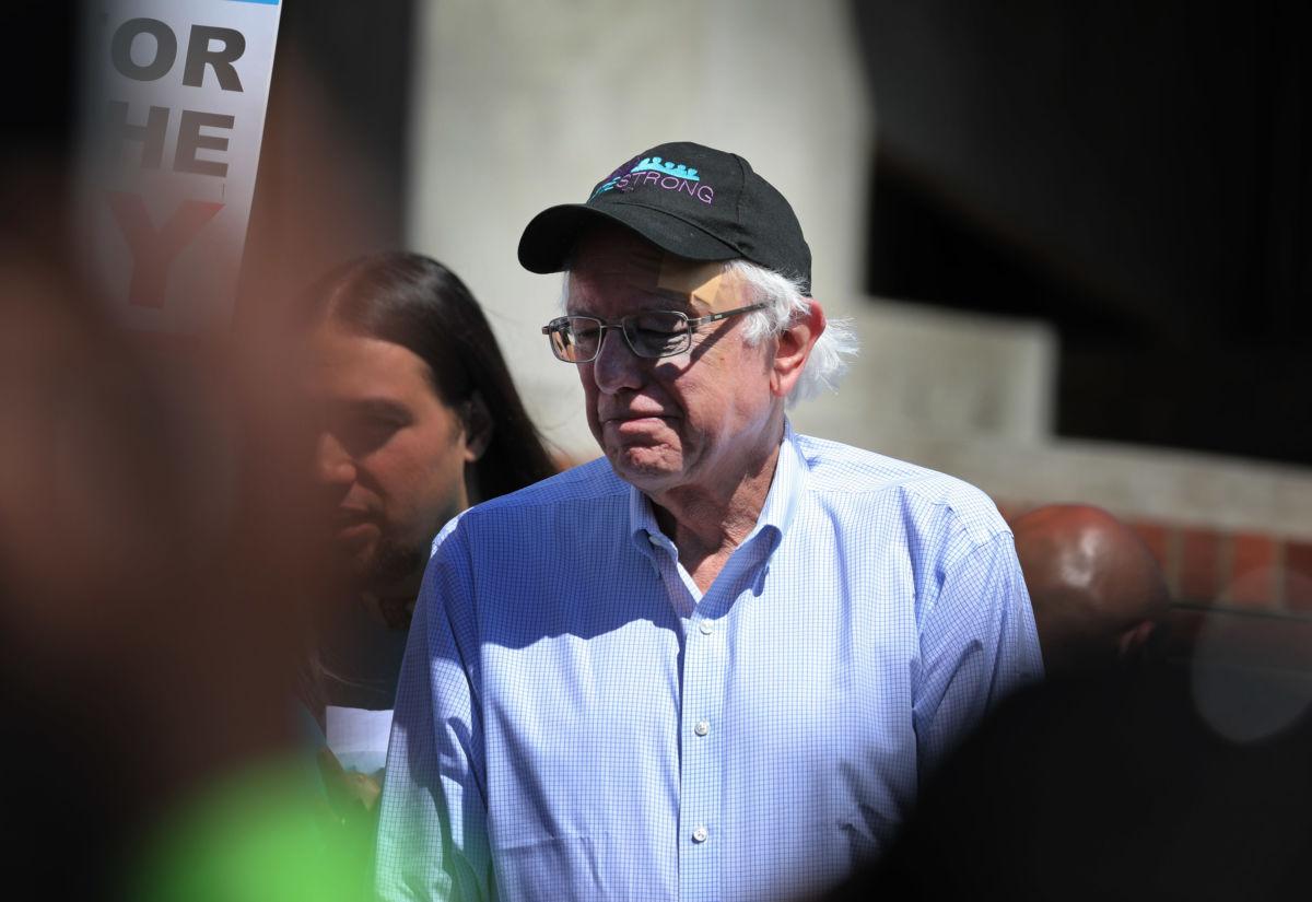 Bernie Is Not a Wind Sock