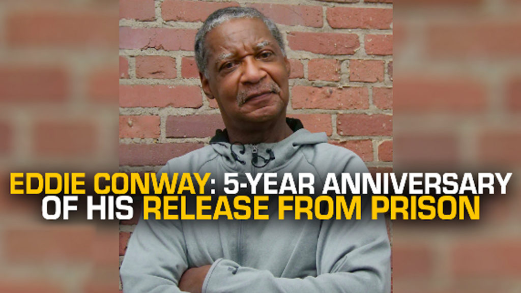 Eddie Conway: 5-Year Anniversary of His Release From Prison - RAI (11/12)