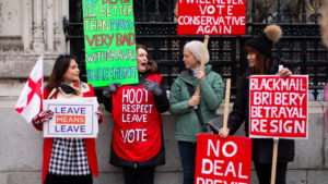 'No Deal' Brexit Off the Table; British Growing Weary of Brexit Fiasco