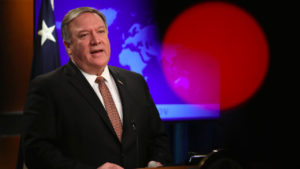Sec. of State Pompeo Protecting Bush Jr. from War Crimes Prosecution (Pt 1/2)