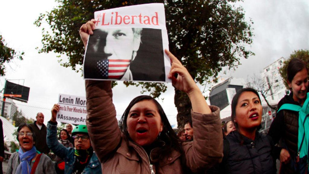 Ecuadorian President's Motives for Surrendering Assange: Vengeance & IMF Loan?