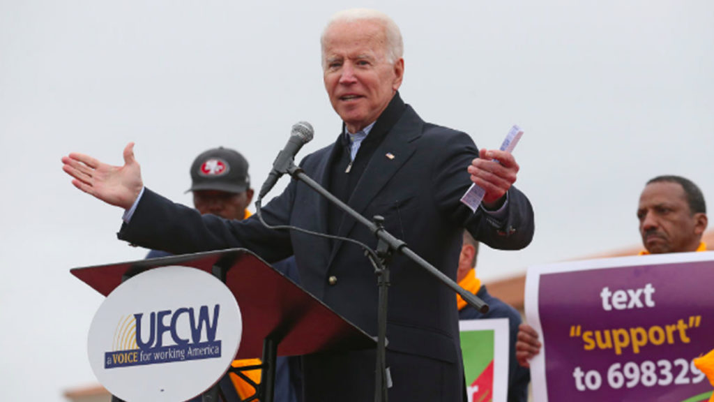 Can Progressives Stop Biden, the Credit Card Candidate?