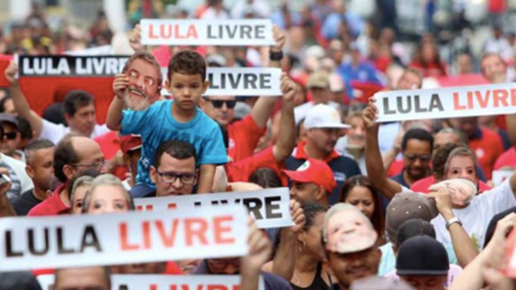 "Protests Across Brazil and the World for the Release of Lula, ""Political Prisoner"""