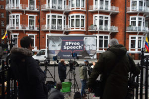 Assange Arrest Free Speech Sign