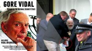 Assange Arrest Sparks Interest in Gore Vidal Book