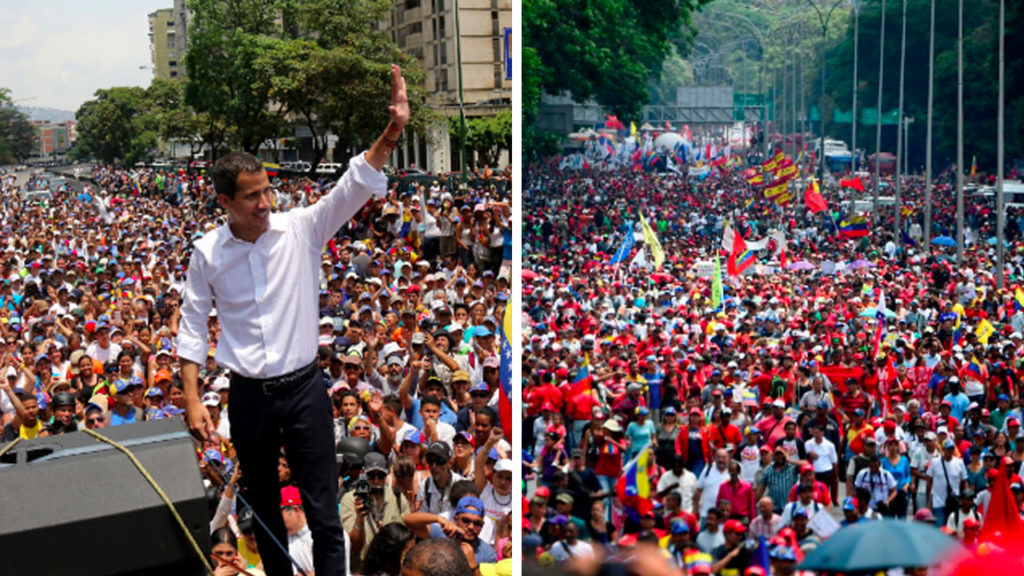 The Calm After the Storm in Venezuela: Opposition and Government Measure Support in Streets